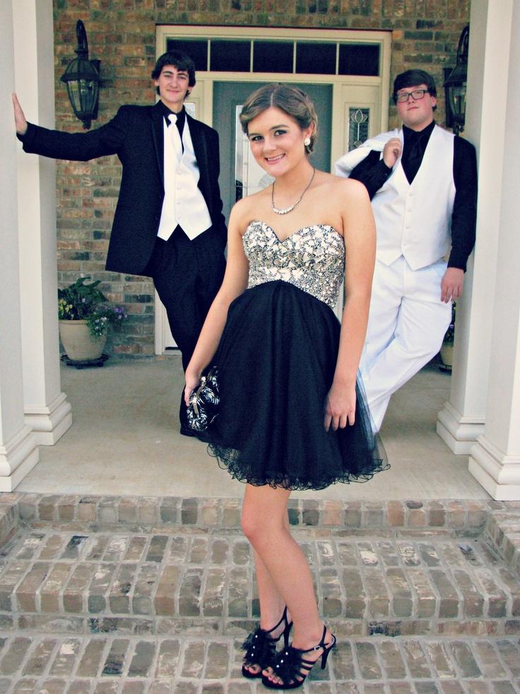 Teenage Boys Wearing Cocktail Dresses
