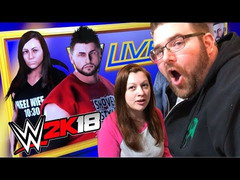 A REAL LIFE STALKER? BEST GTS WWE 2K18 Create A Wrestlers