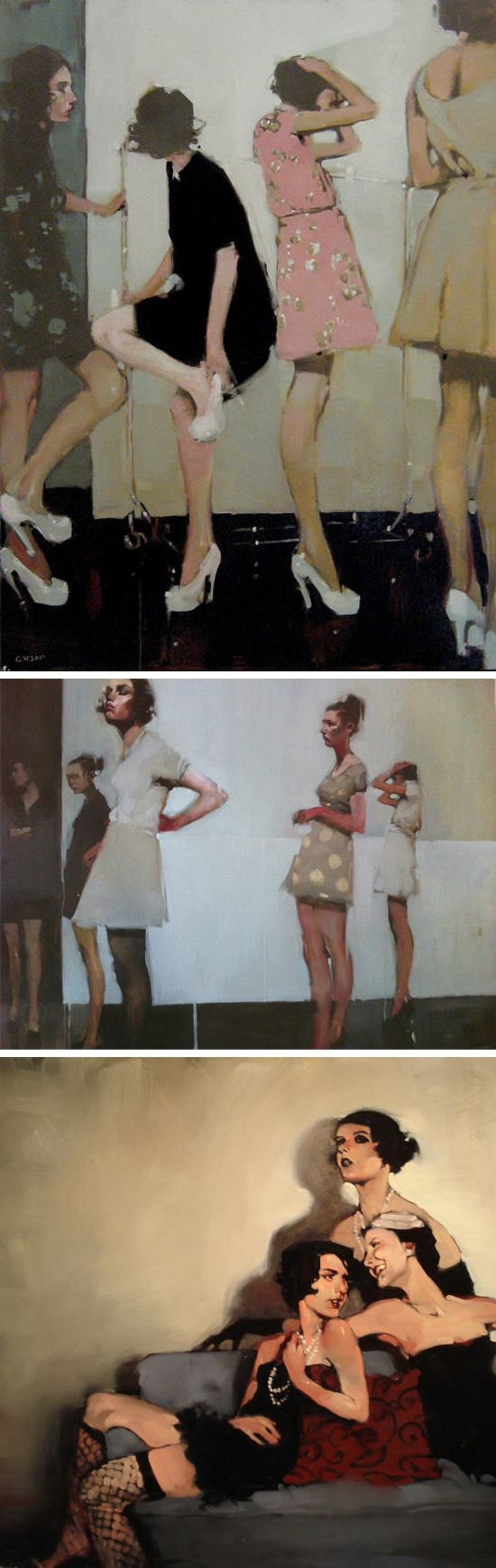 ART THAT'S INSPIRING | michael carson, painter