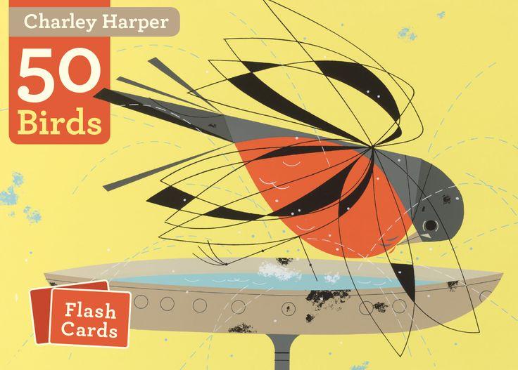 Mejores 128 imágenes de Illustrations: Charley Harper birds en ...