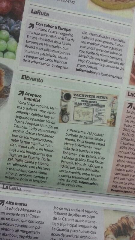 Diario El Nacional - Por Ileana Matos