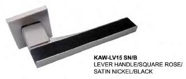 $117 <ul>  <li>  Designed & Manufactured by KAWAJUN, JAPAN</li>  <li>  Finish: Satin Nickel + Black</li>  </ul>
