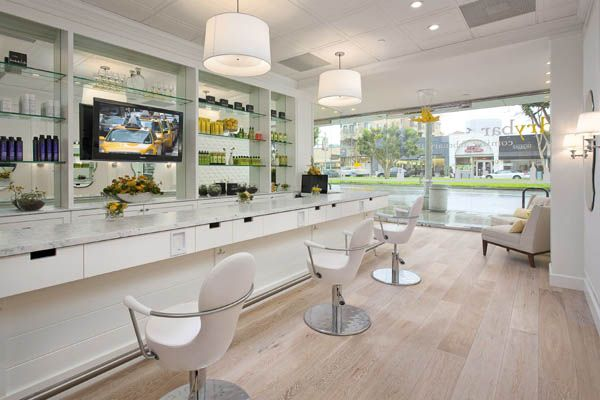 130 best images about salon ideas on pinterest stylists reception desks and beauty salons - Bar salon design ...