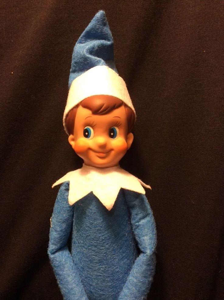 Elf on the shelf look alike doll. Blue Elf Elf, Elf doll