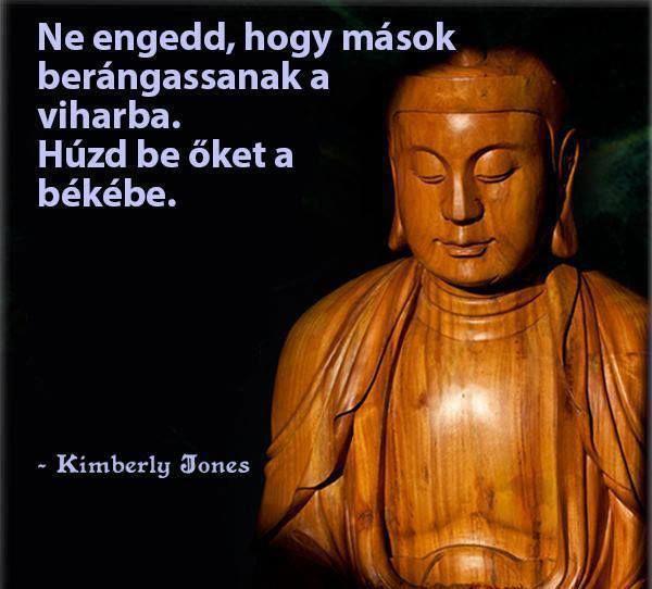 Kimberly Jones gondolata a lelki békéről. A kép forrása: Kerner Training