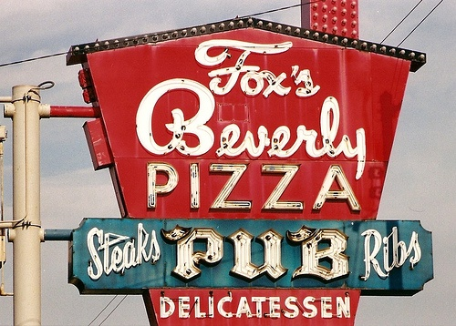 Fox's Pizza (the REAL Chicago Pizza) thin crust is how WE eat it. in the Beverly neighborhood of Chicago or the suburbs of Orland Park, Oak Lawn, Mokena & Hinsdale http://www.foxspub.com/#