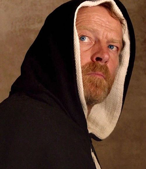 Iain Glen as Girolamo Savonarola in Borgia: Faith and Fear. Yes, this is also Jorah Mormont from Game of Thrones. I love Iain and think he is great in Borgia, although it took me a moment to distance him in my mind from Jorah.