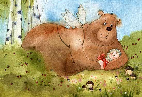 Маша и медведь (Виктория Кирдий)