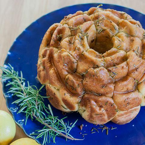 Rosemary-Lemon Monkey Bread | Lemon Monkey Bread, Monkey Bread and ...
