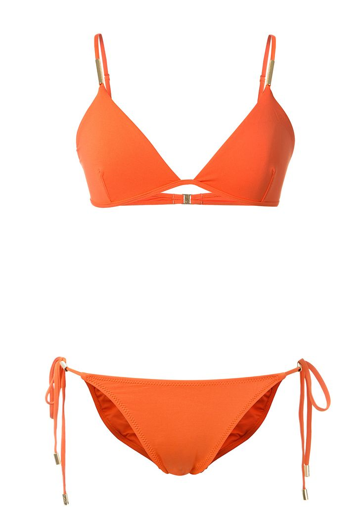Melissa Odabash Beachwear :: Melissa Odabash Verona orange bikini | Montaigne Market
