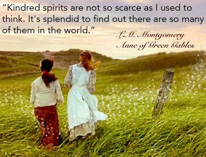 Kindred spirits are lovely. | Quotes for kids