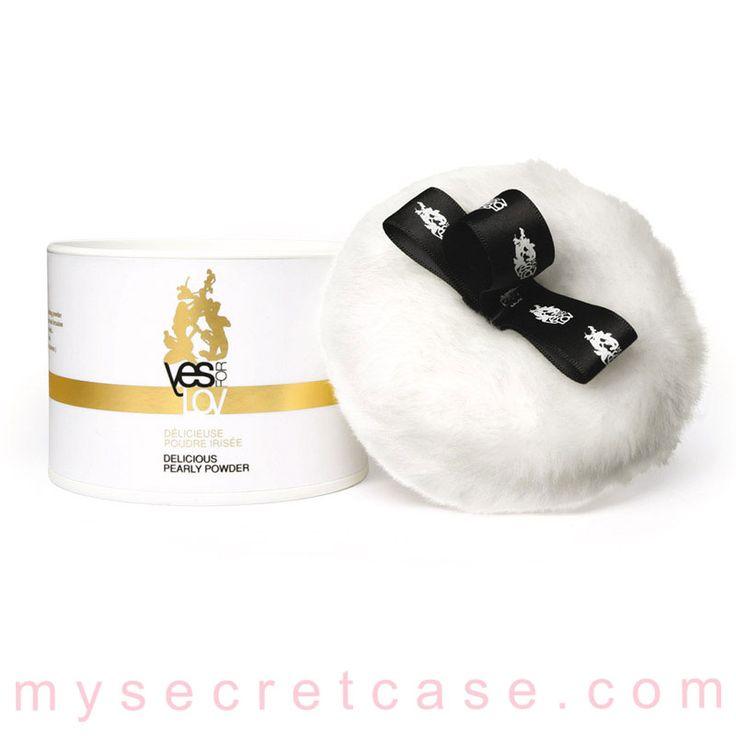 Delicious Pearly Powder è una cipria profumata commestibile di YESforLOV http://www.mysecretcase.com/giochi-erotici-yesforlove-delicious-pearly-powder