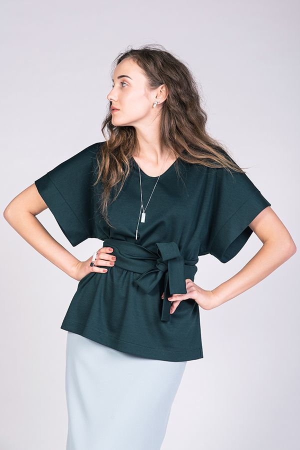 Sointu Kimono Tee sewing pattern from Named Clothing - find out more and read…