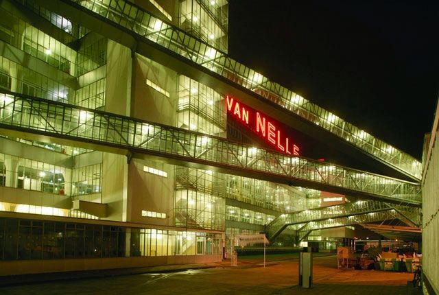 Van Nelle Fabriek by night