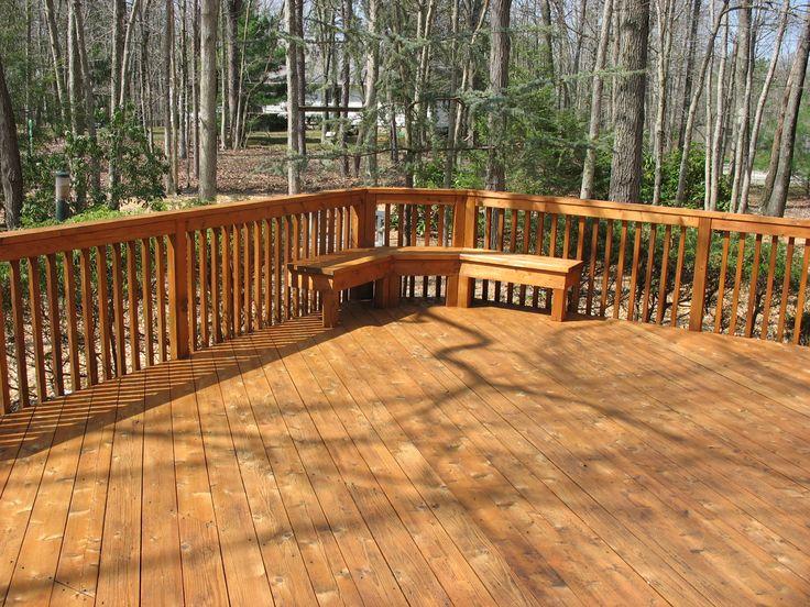 Cedar deck sealer woodworking projects plans for Decks plus