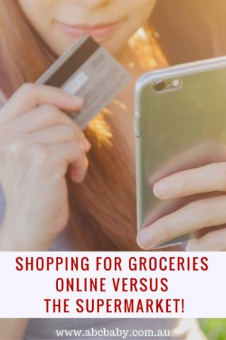 Shopping For Groceries Online Versus The Supermarket – Pros And Cons - ABC Blog - Australian Baby Card
