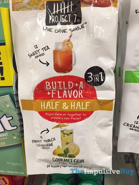 Project 7 Half & Half Build-A-Flavor Gum