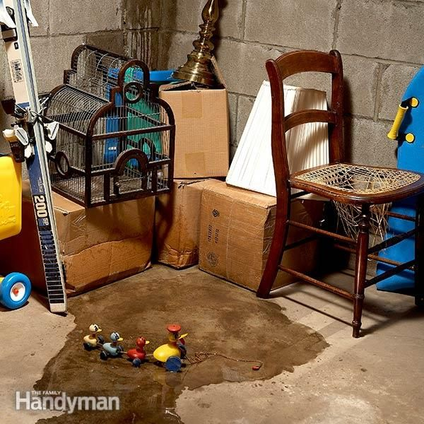 Damp Basement Finding Leaks And Water Sources: Wet Basement Solutions, Basement Repair And Rising Damp