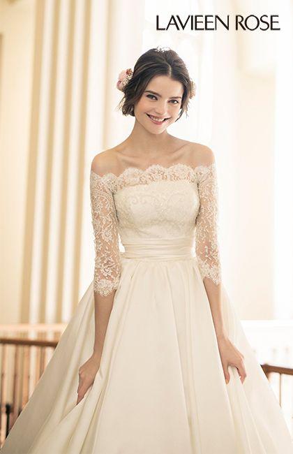 ラビアンローゼ No.46-0074 ウエディングドレス 結婚式