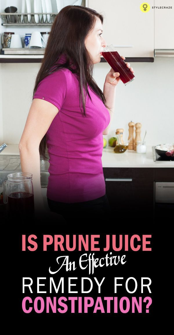 How To Use Prune Juice For Constipation | Natural Remedies