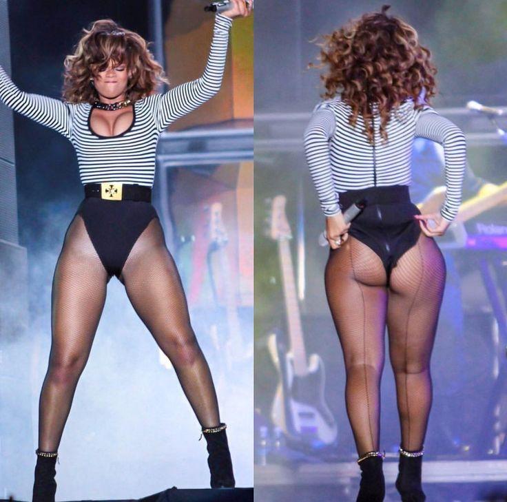 Rihanna fat legs women