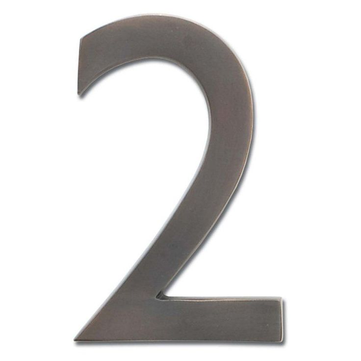 Architectural Mailboxes 5 in. Floating House Number - 3585DC-9