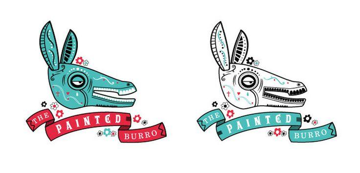 The Painted Burro Logo