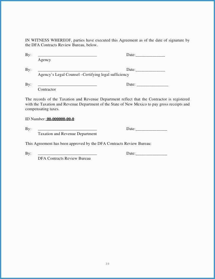 Time And Materials Contract Template Incredible Time And Material