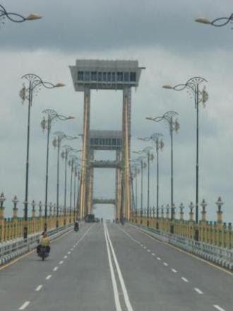 Siak Gate placed in Siak Sri Indrapura.