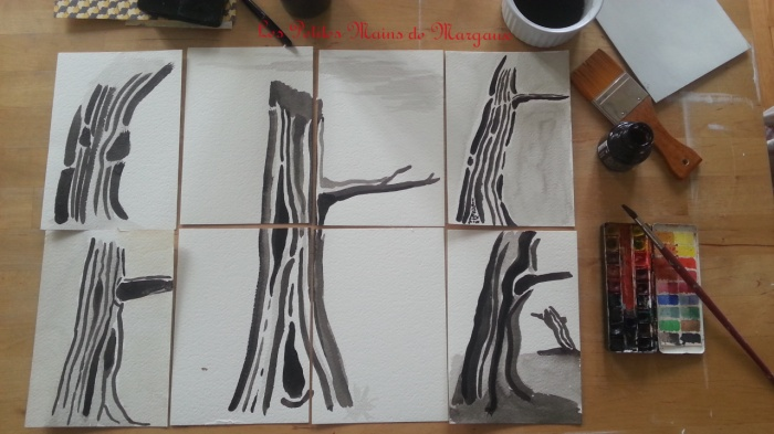 Trees by Margaux FB Ink more on www.lespetitesmainsdemargaux.com
