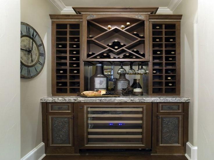small kitchen island with wine cooler ideas, Wine Cellar Storage Designs Wine Storage Solutions ...