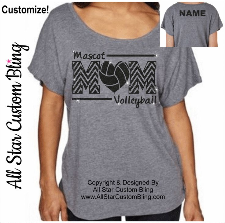 Volleyball Mom Off Shoulder Dolman Shirt, Glitter Volleyball Mom Shirt