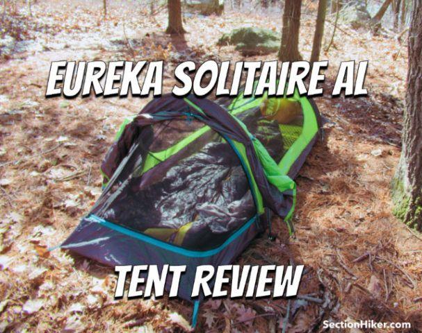 b696391d6f Eureka Solitaire AL Tent Review | Best of SectionHiker.com | Tent ...