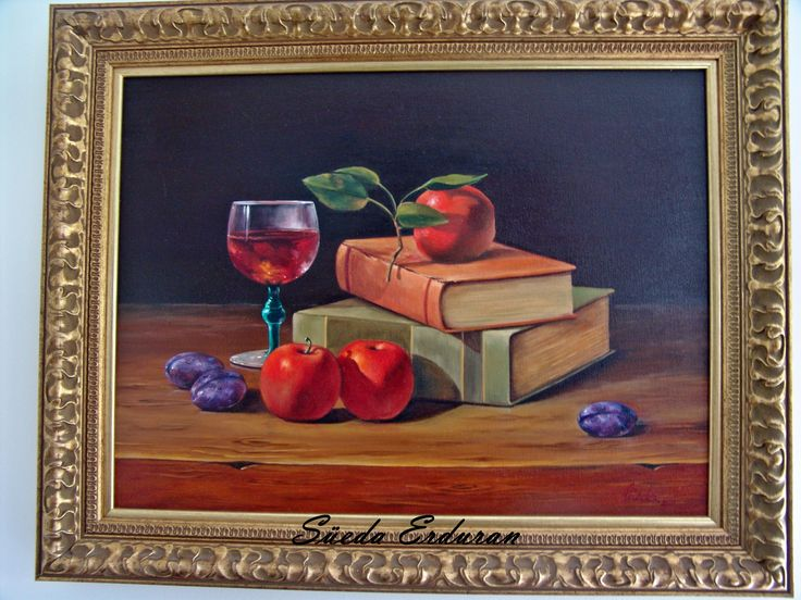 Oil painting made by Süeda Erduran