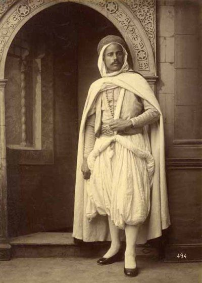 costume homme Algérie