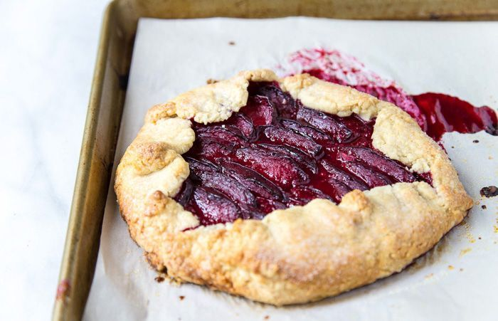Martha Stewart Plum tart from Dessertfortwo