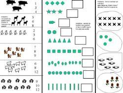 evaluations denombrement maternelle grande section