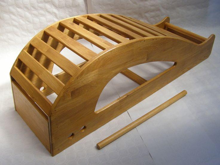 Gym Bench Press Chair Gaming Desk Iyengar Yoga - Large Backbender Whale Or Viparita Dandasana Http://www.harconyoga.com ...