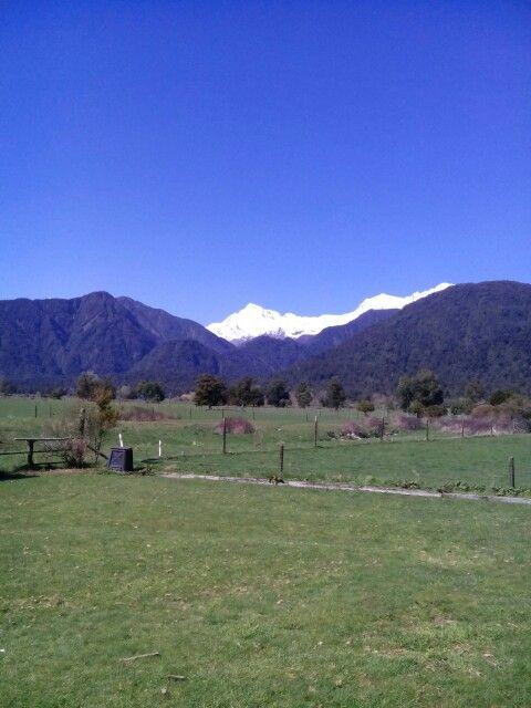 Mt Ellie de Beumont Glacier Country NZ