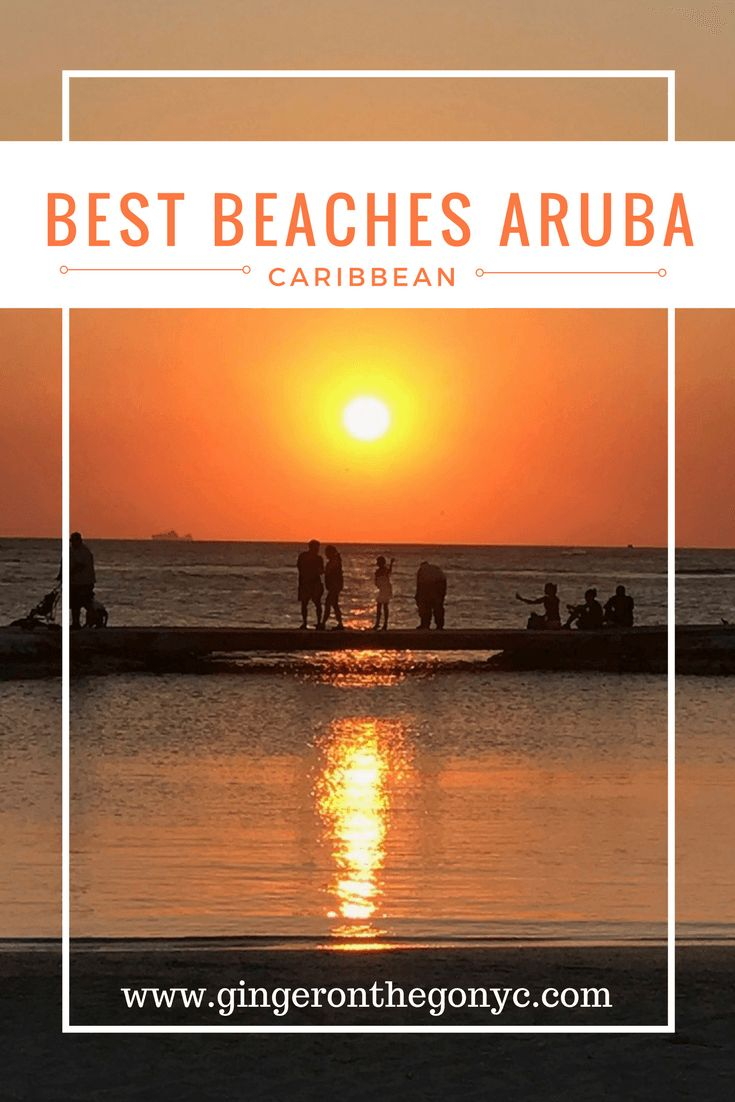 Aruba has many beautiful beaches but here are the Best Beaches Aruba has to offer from my recent trip! Eagle Beach, Palm Beach, Baby Beach and more!