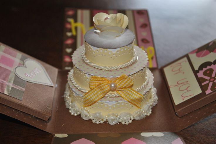 particolare della explosion wedding box