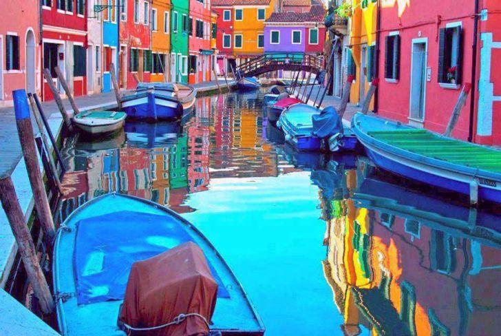 Ile de Burano – Venise / Italie