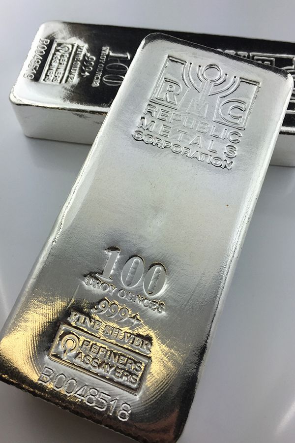 100 Oz Silver Bars For Sale 100 Troy Weight Bullion Money Metals Exchange In 2020 Silver Bars Gold Money Silver Bullion