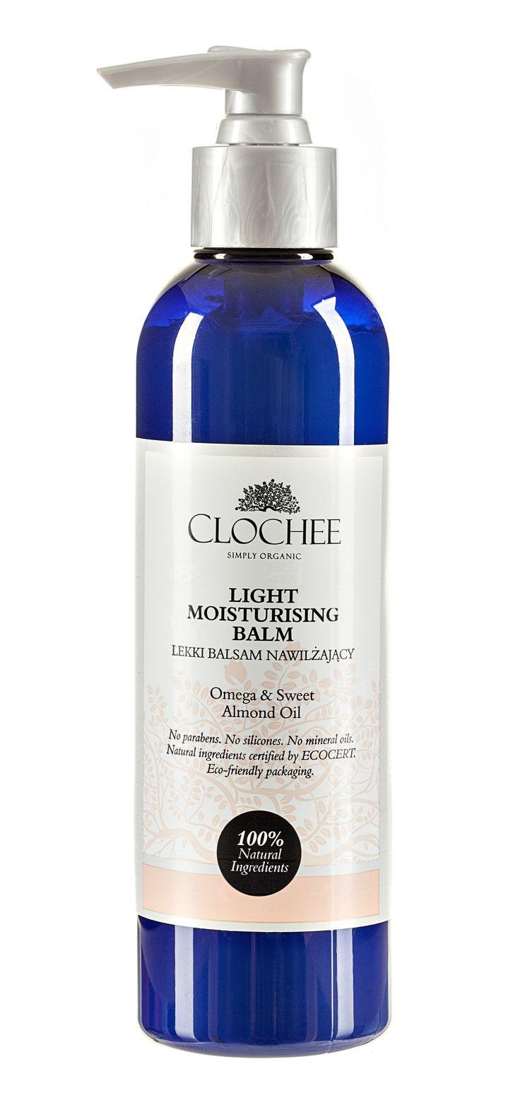 Lekki balsam nawilżający, ale za to jakie działanie! I do tego ten orientalny zapach. Clochee wie, czego pragnie kobieca skóra.