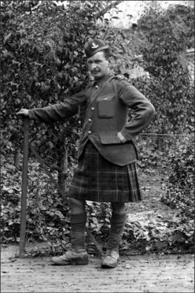 Lost Pictures Taken Just Before The Battle of the Somme.  Just recovered from a French Barn....  As an aside, fighting in a kilt, tougher men you might not find...