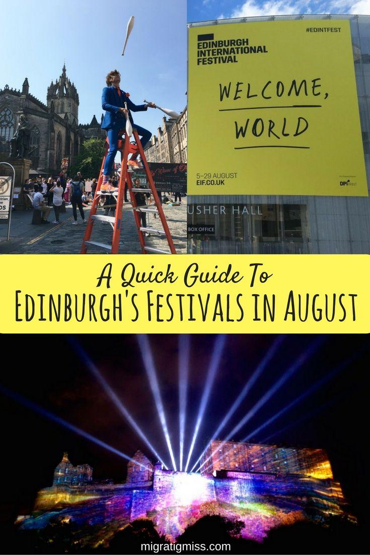 edinburgh august festivals