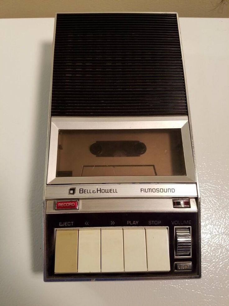 Vintage Bell And Howell Film And Sound Tape Recorder Model 450a