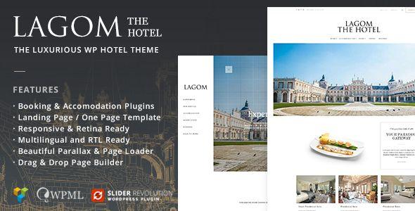 Lagom Hotel - The Luxurious WordPress Hotel Theme