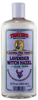 Thayers Lavender Witch Hazel with Aloe Vera Toner 12 fl oz (355 mL) Bottle