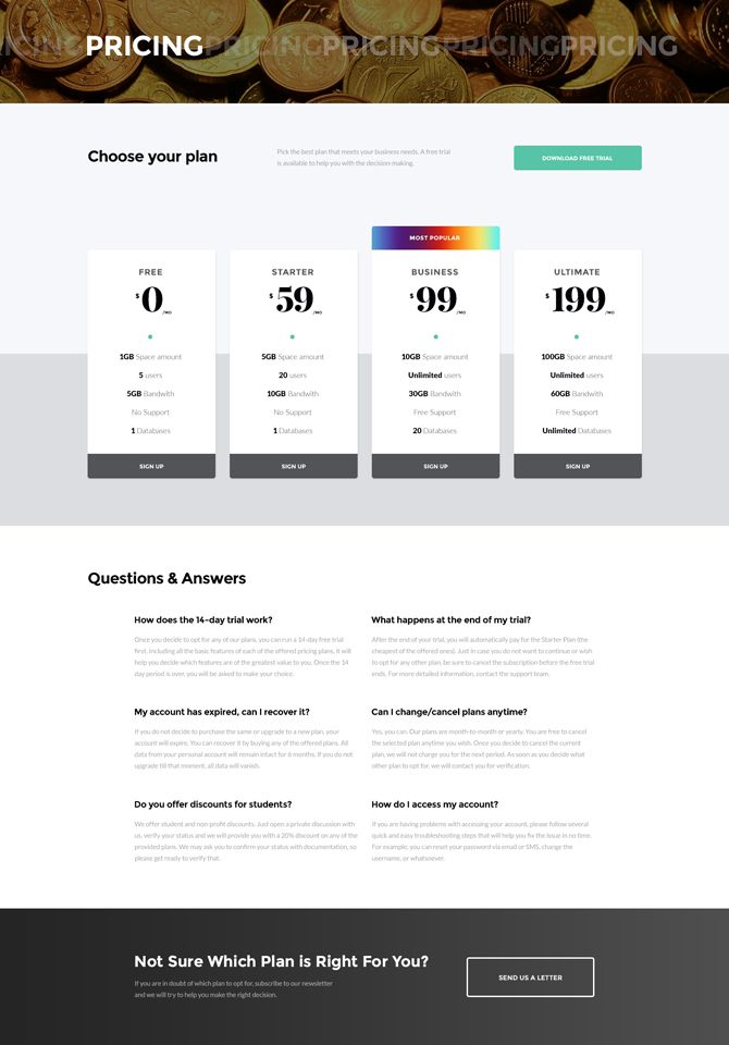 multipurpose HTML5 template